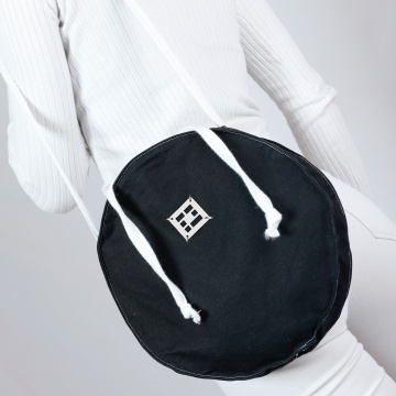 "Дизайнерска кръгла чанта ""BABY MIA"""