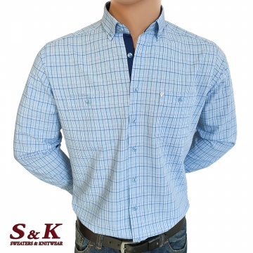 Елегантна мъжка риза 100% памук