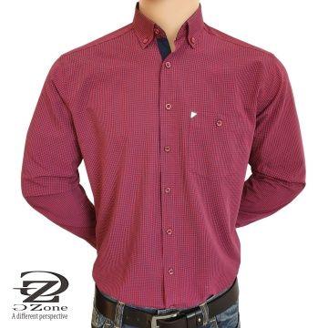 Мъжка риза ситно каре