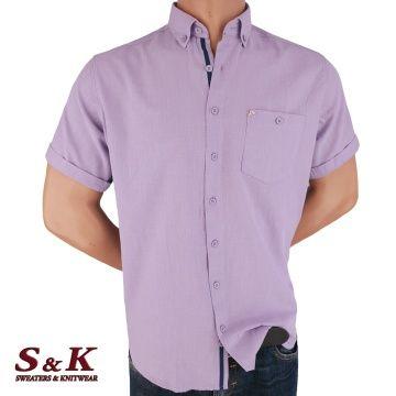 Ежедневна Мъжка Риза 50% Лен 50% Памук