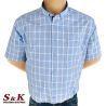 Големи мъжки ризи 100% памук 613
