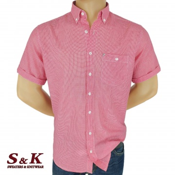 Фина мъжка памучна Риза