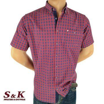 Men's plaid shirt 100% cotton 1891