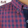 Мъжка риза 100% памук каре 1891