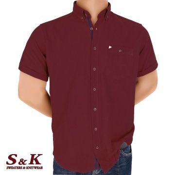 Големи мъжки ризи 50% Лен и 50% Памук 07-510