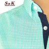Мъжка риза 100% памук ситно каре 533