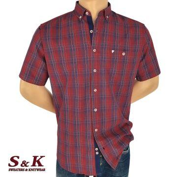 Men's plaid shirt soft cotton 1951