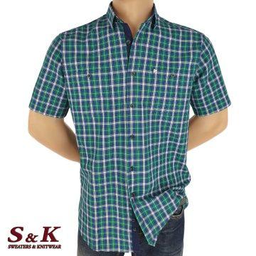 Мъжка риза 100% памук с два джоба 1824