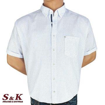 Големи мъжки ризи 50% Лен и 50% Памук 465