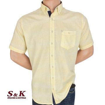 Мъжка риза 50% лен и 50% памук 2060