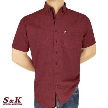 Мъжка Риза 50% Лен 50% Памук Меланж 1418