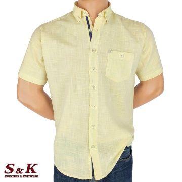 Мъжка Риза 50% Лен 50% Памук 1431