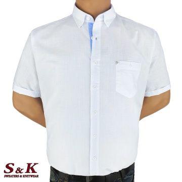 Големи мъжки ризи 50% Лен и 50% Памук 578