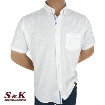Мъжка Риза 50% Лен 50% Памук 1473