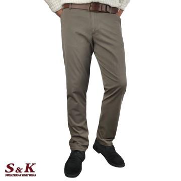 Големи Мъжки Спортно-елегантен Панталон - 1448
