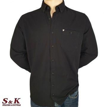 Големи мъжки ризи 100% Памук с дълъг ръкав - 595