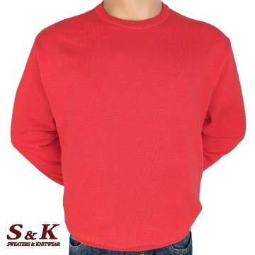 Големи размери мъжки пуловери от 100% памук 113-5