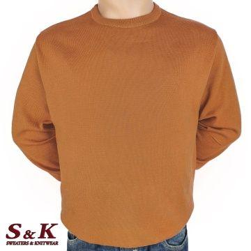 Големи размери мъжки пуловери от 100% памук 113-6