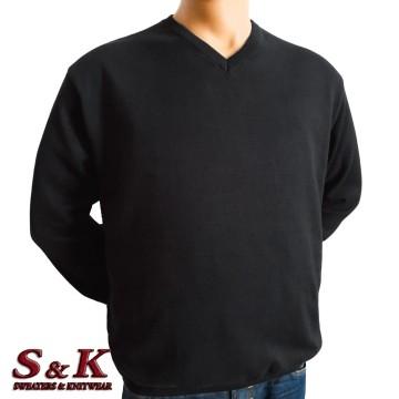 Големи размери мъжки пуловери от 100% памук 112-6