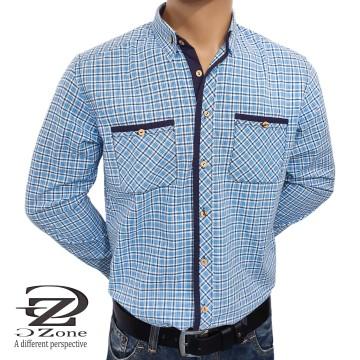Мъжка риза 100% памук с дълги ръкави