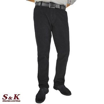 Плътни Мъжки Панталони - Памучно Кадифе - 1534-1