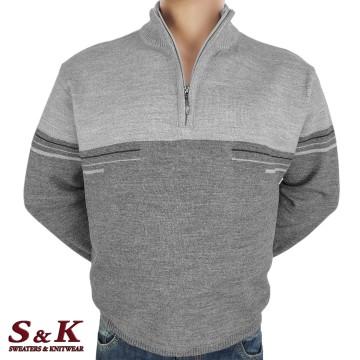 Големи мъжки пуловери с цип 2026