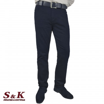 Плътни Мъжки Памучни Панталони - 1039-1