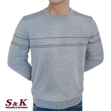 Луксозен мъжки пуловер