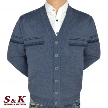 Big men's vests with buttons and pockets 2304