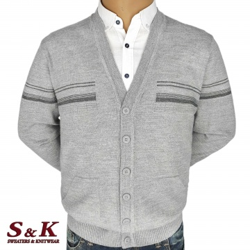 Big men's vests with buttons and pockets 2304-1