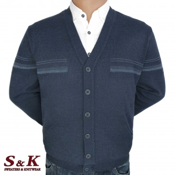 Big men's vests with buttons and pockets 2304-3