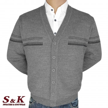 Big men's vests with buttons and pockets 2304-4