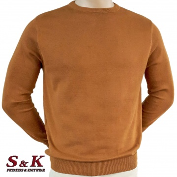 Big sizes men's 100% cotton sweaters